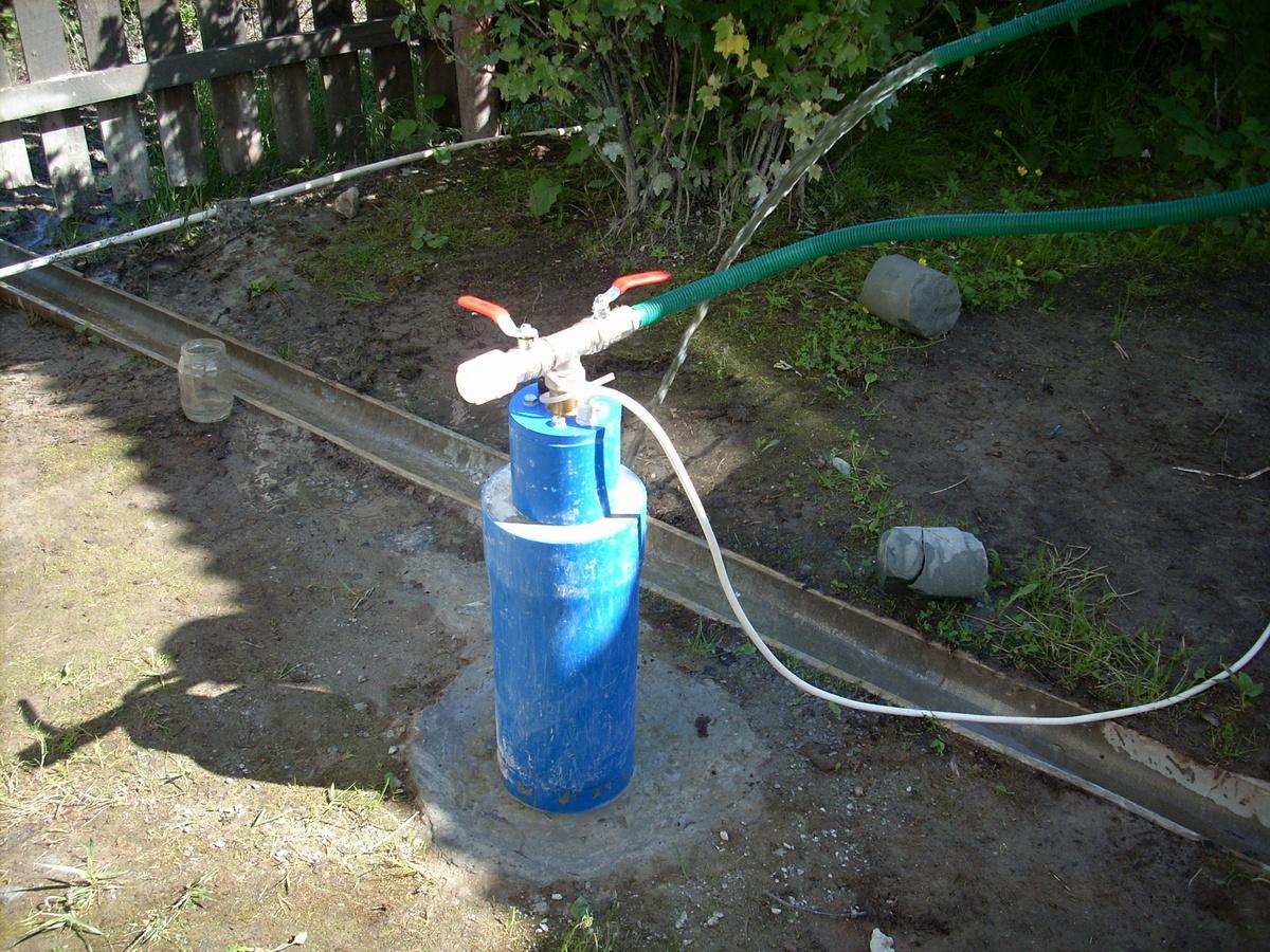 19-Готовая скважина с питьевой водой